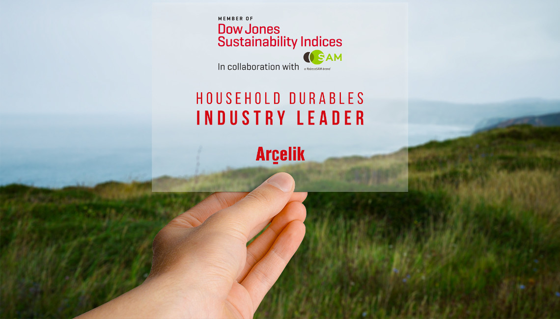 Arcelik Named Industry Leader In The Dow Jones Sustainability Index